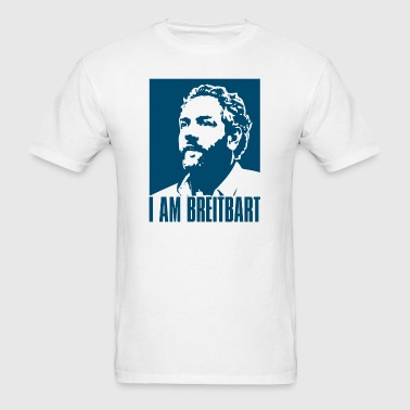 I am Breitbart - blue - Men's T-Shirt