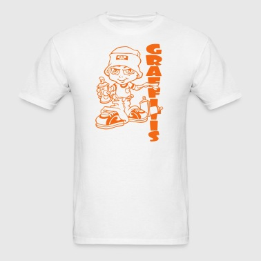 Graffitis boy - Men's T-Shirt