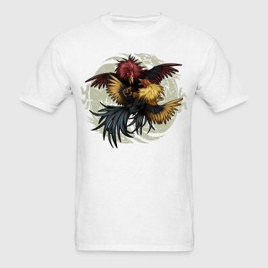 Ying Yang Gallos by Rollinlow - Men's T-Shirt