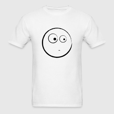 Smilie Smiley Face Smile 1c - Men's T-Shirt
