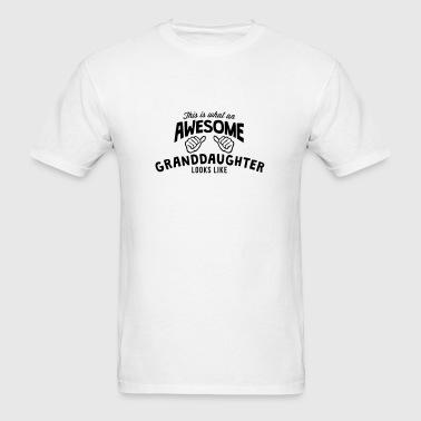 this is what an awesome granddaughter lo - Men's T-Shirt