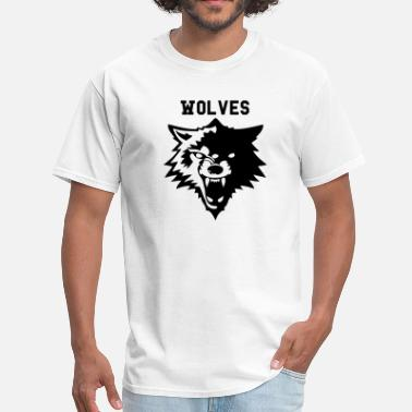 Wolverines Basketball wolf or wolverines? - Men's T-Shirt