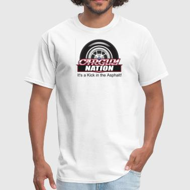 Car Guy Nation Emblem - Men's T-Shirt