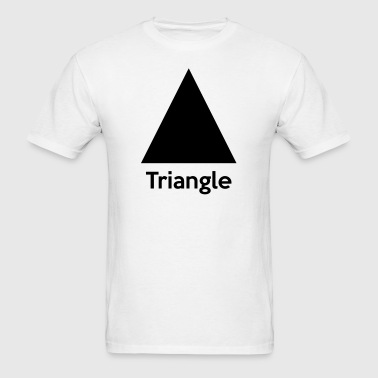Triangle Shape - Men's T-Shirt