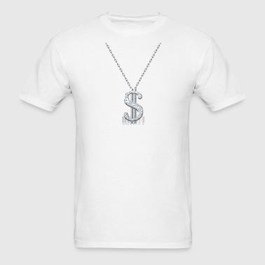 Bling Necklace - Men's T-Shirt