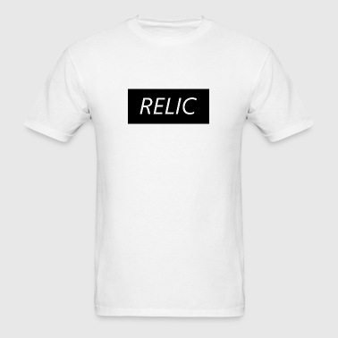 Relic Box Logo Black - Men's T-Shirt