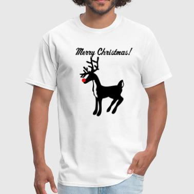 rudolph the red nose reindeer - Men's T-Shirt