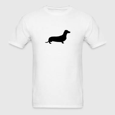 weiner dog - Men's T-Shirt