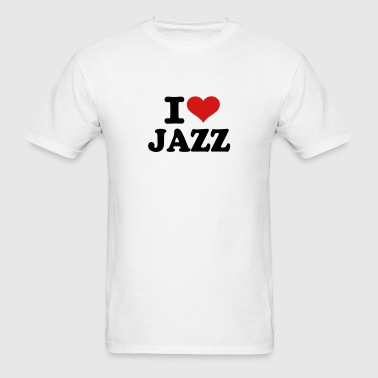 I love Jazz - Men's T-Shirt
