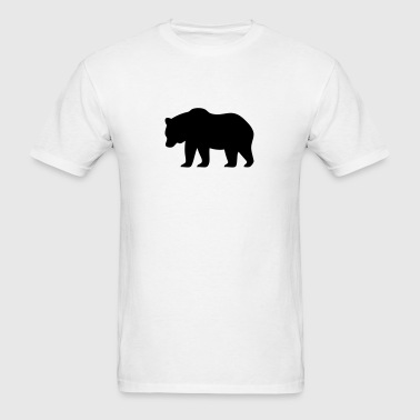 Bear Silhouette - Men's T-Shirt