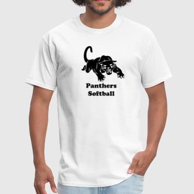 Panthers Softball panthers sports team graphic - Men's T-Shirt