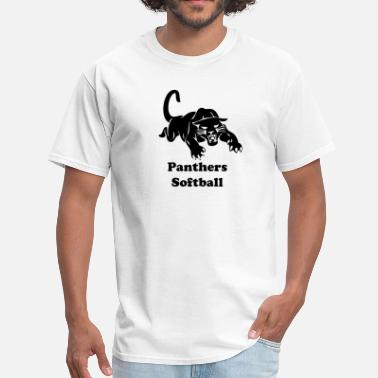 Softball Graphics panthers sports team graphic - Men's T-Shirt