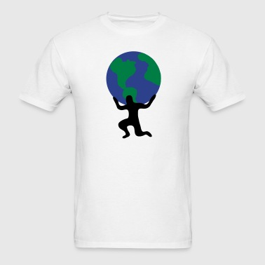 Atlas Earth World Burden 3c - Men's T-Shirt