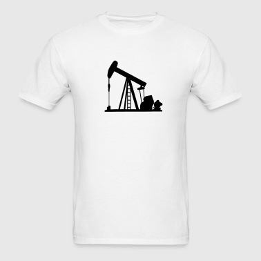 Oil Crane - Men's T-Shirt