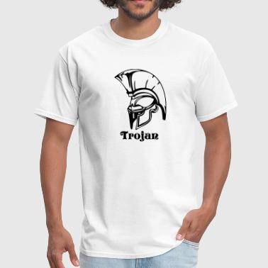 Spartan Sports trojans or spartans custom sports graphic - Men's T-Shirt
