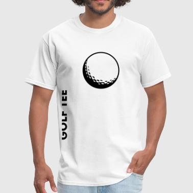 golf ball and Golf tee - Men's T-Shirt