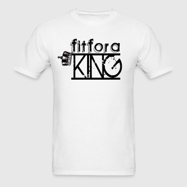 Fit For a King - Men's T-Shirt