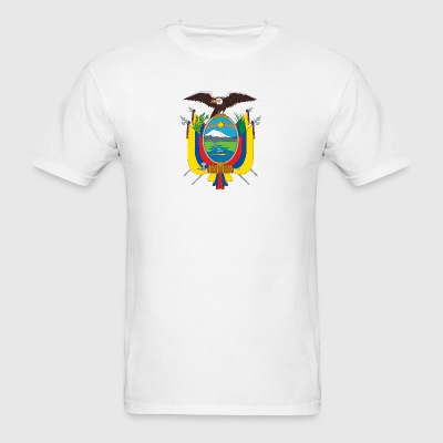 National Coat Of Arms Of Ecuador - Men's T-Shirt