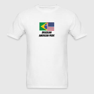 Brazilian American Pride - Men's T-Shirt