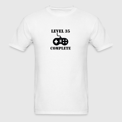 Level 35 Complete 35th Birthday - Men's T-Shirt