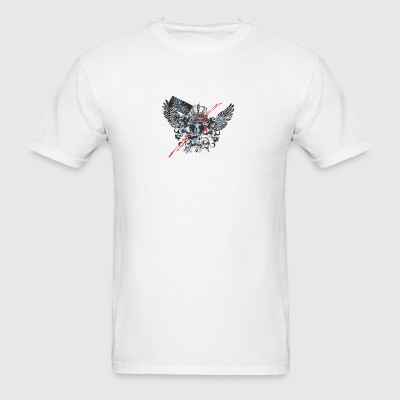 Emblem with crown with wings - Men's T-Shirt
