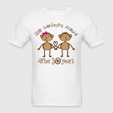 30th Anniversary Monkeying Around - Men's T-Shirt