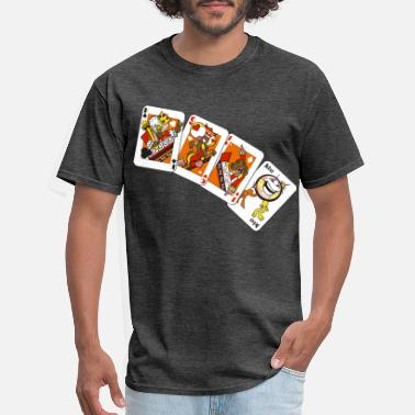 Card Playing Cards - Men's T-Shirt