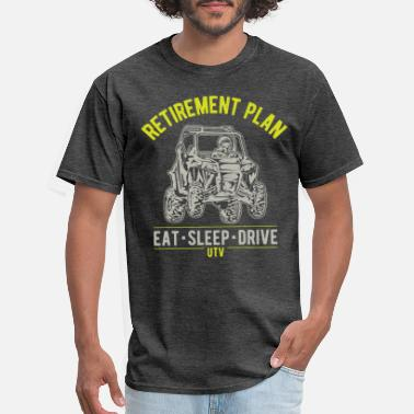 Side UTV SxS Retirement Plan - Men's T-Shirt