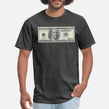 Dollar Bill One Hundred Dollars Bill - Men's T-Shirt