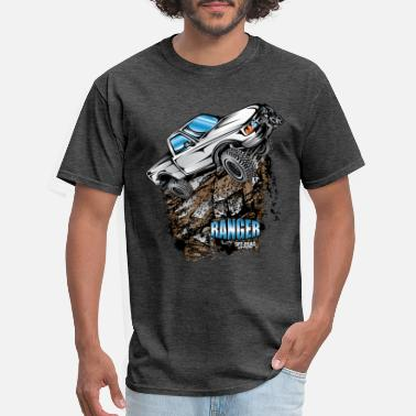 Ranger White Ford Ranger T-Shirt - Men's T-Shirt