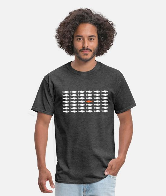 Indie T-Shirts - Against the Mainstream - Men's T-Shirt heather black