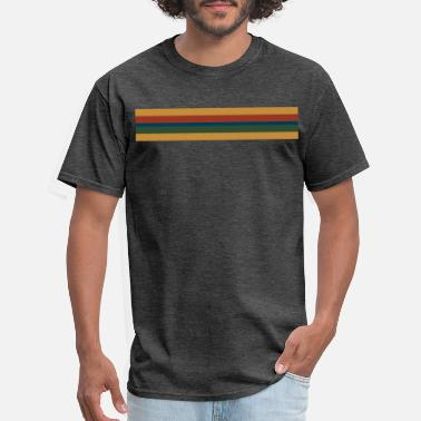 13th 13th Doctor Rainbow Stripe - Men's T-Shirt