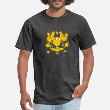 Adventure Adventure Time Multiple Jakes - Men's T-Shirt