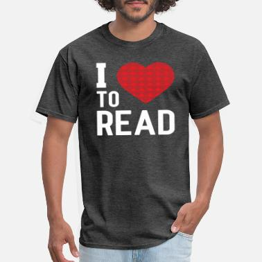 Read I love to read - Men's T-Shirt
