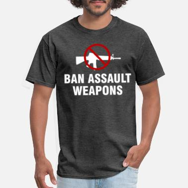 Assault Weapon Ban assault weapons - Men's T-Shirt