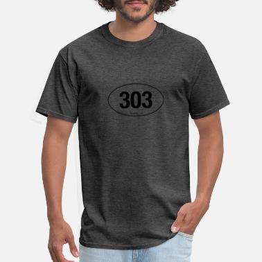 Area Code State Area Code - Men's T-Shirt