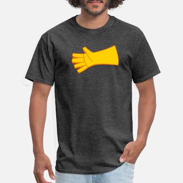 Two Colored two color glove - Men's T-Shirt