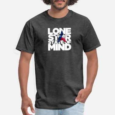 Lone Star State of Mind - Men's T-Shirt