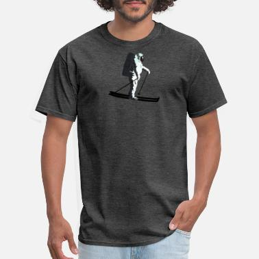 Ski Trip Moonlight Skiing - Men's T-Shirt