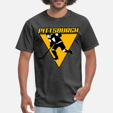 pitssburgh hockey - Men's T-Shirt