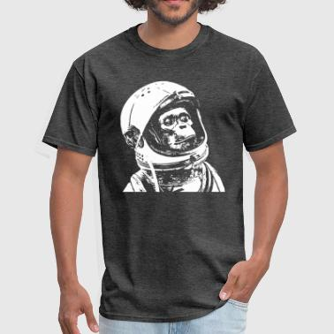 Cool space monkey astronaut - Men's T-Shirt