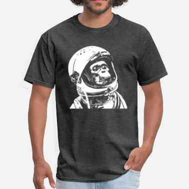 Monkey Cool space monkey astronaut - Men's T-Shirt