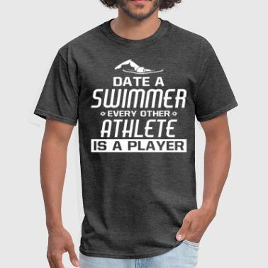 Swimmer T Shirt - Men's T-Shirt