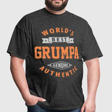 World Best Grumpa - Men's T-Shirt