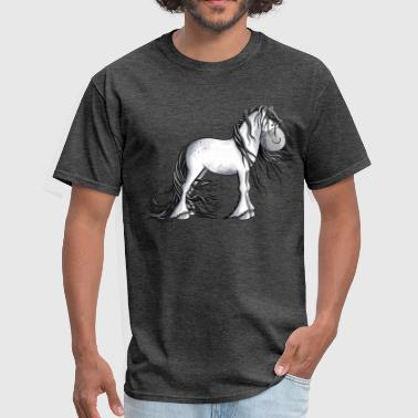 Andalusian Horse Andalusian Horse - Horses - Gift - Cartoon - Men's T-Shirt