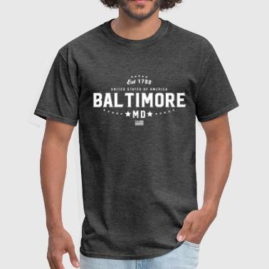 Baltimore Maryland MD State - Men's T-Shirt
