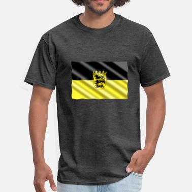 Baden-baden Baden-Wuertemburg Flag - Men's T-Shirt