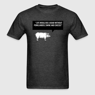 Pork food puns - Men's T-Shirt
