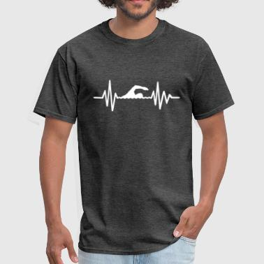 Swim Swimming - Men's T-Shirt