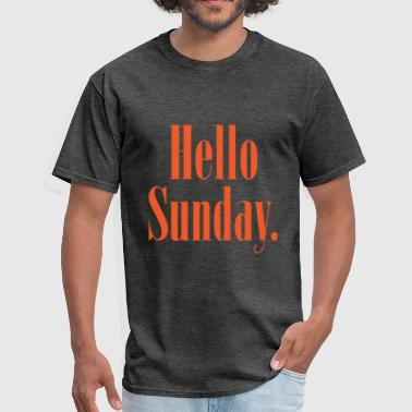 Hello Sunday - Men's T-Shirt